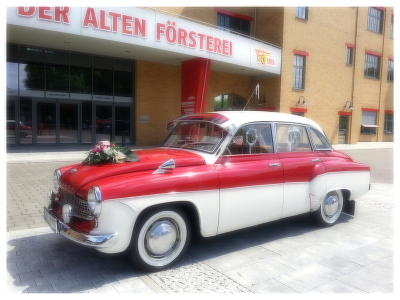 Stadtrundfahrten in der DDR Limousine